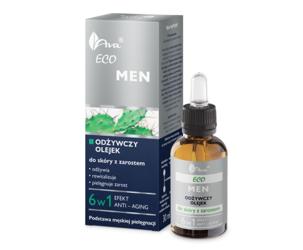 Ava Eco Men Odżywczy olejek do skóry z zarostem 30 ml