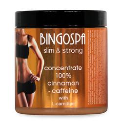 BingoSpa Koncentrat cynamonowo-coffeinowy z L-karnityną 250g