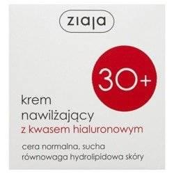 Ziaja 30+ Krem nawilżający z kwasem hialuronowym 50ml
