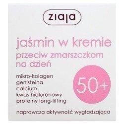 Ziaja Jaśmin Krem 50+ przeciwzmarszczkowy na dzień 50 ml