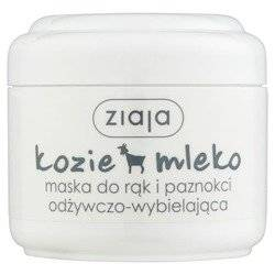 Ziaja Kozie Mleko Maska do rąk wybielająca 75 ml