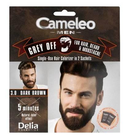 Delia Cameleo Men 3.0 Dark Brown Koloryzator jednorazowy