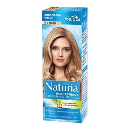 Joanna Naturia Rozjaśniacz 4-6 tonów Superjasne włosy