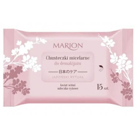 Marion JR Chusteczki micelarne 15szt