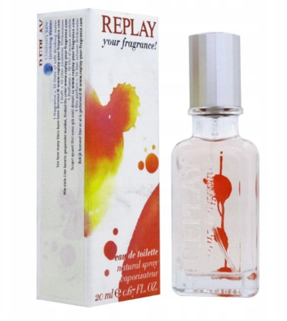 REPLAY YOUR FRAGRANCE WOMAN EDT 20ML.